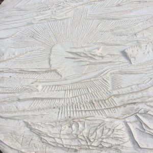 HENRI-GEORGES ADAM – moulage en plâtre – ICARE