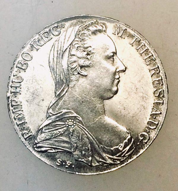 thaler Marie Thérèse - monnaie d'argent