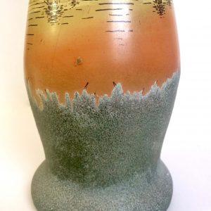 Vase LEGRAS – décor de paysage lacustre