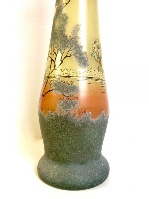 vase legras art nouveau détail