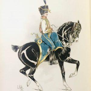 Le Chic à cheval – Histoire pittoresque de l'équitation – Louis Vallet