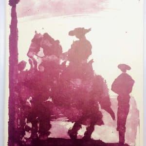 Pablo Picasso – Toros y Toreros – Éditions Cercle d'art 1961