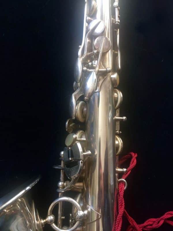 Saxophone Selmer Alto Balanced Action Argent Clef