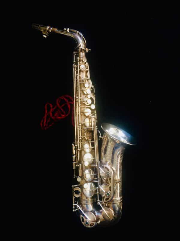 Saxophone Selmer Alto Balanced Action Metal Argenté