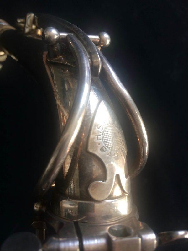 Saxophone Selmer Alto Balanced Action Silver
