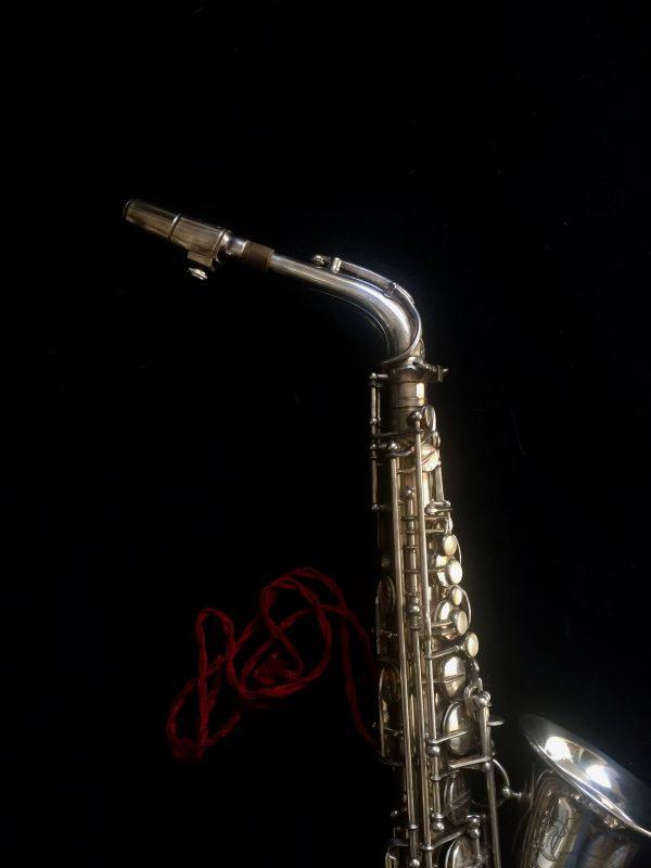 Saxophone Selmer Alto Balanced Action Silver Plated 1948