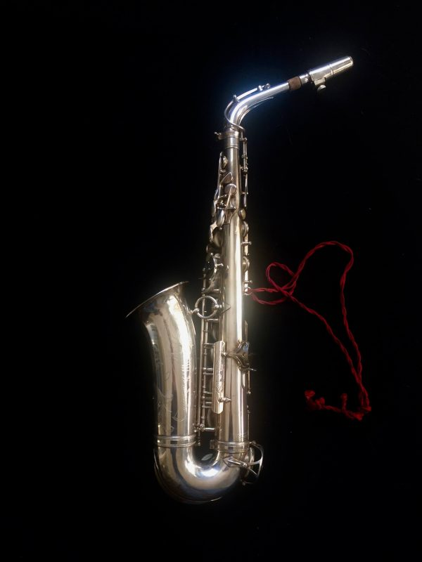 Saxophone Selmer Alto Balanced Action Silver Plated Argent 1948