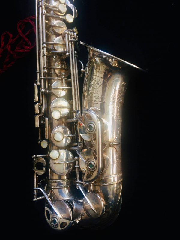 Saxophone Selmer Alto Balanced Action Silver Plated Clef