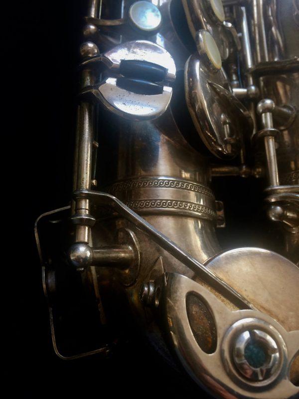 Saxophone Selmer Alto Balanced Action Silver Plated Musique Jazz