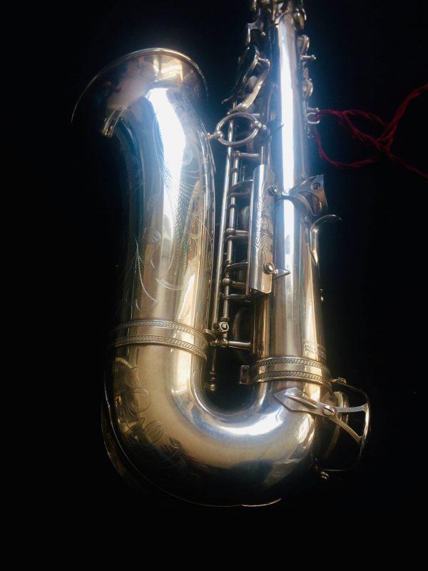 Saxophone Selmer Alto Balanced Action Silver Plated Pavillon