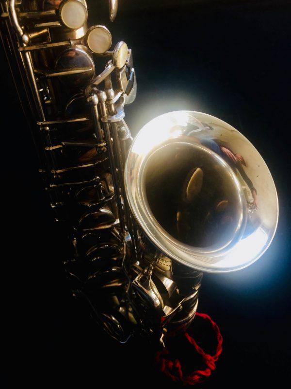 Saxophone Selmer Alto Balanced Action Silver Plated Pavillon Argent