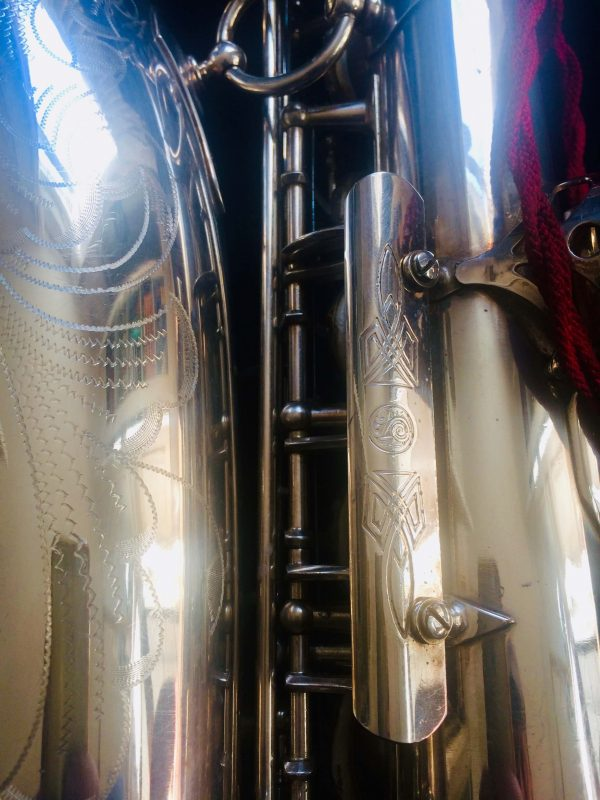 Saxophone Selmer Alto Balanced Action Silver Plated Serie