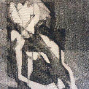 Jacques VILLON – Estampe signé et daté 1939 – Epreuve d'artiste