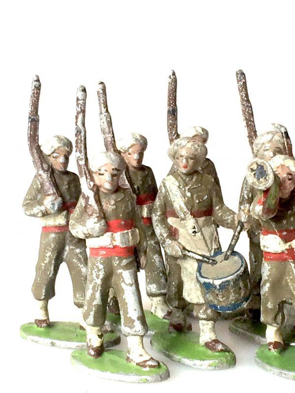 Quiralu Soldats De L'armée Indienne