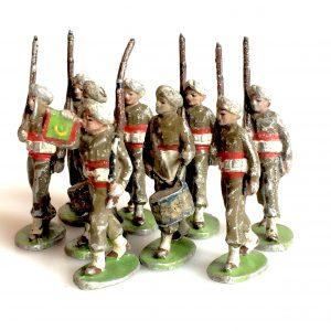 QUIRALU – soldats de l'armée indienne