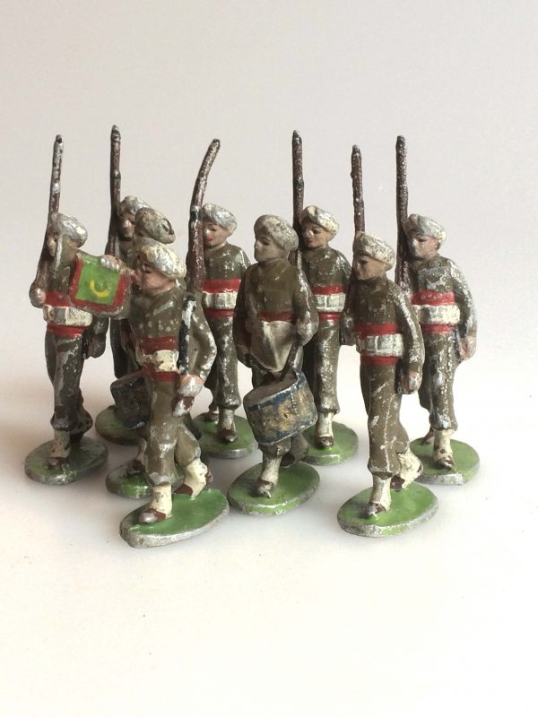Quiralu Soldats De L'armée Indienne Tambour