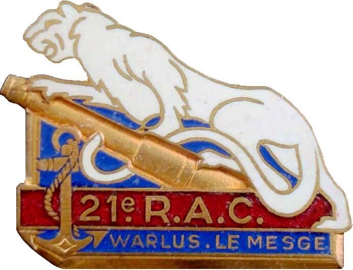 Insigne 21 Rac