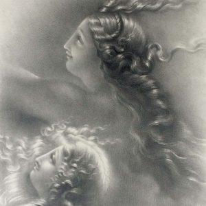 Lithographie De Girodet Trioson Lorma Et Bosmina