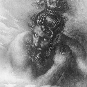 Lithographie De Girodet Trioson Swaran