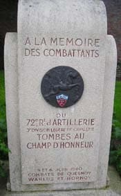Monument Quesnoy