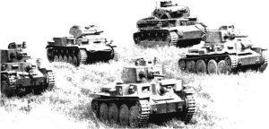 JUIN 1940 – Le 4e régiment de Hussards contre les chars de la 7e panzer division de Rommel.