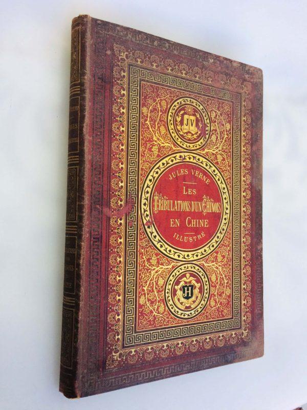 Livre De Jules Verne Une Édition Originale Éditée Chez Hetzel Les Tribulations D'un Chinois En Chine 2