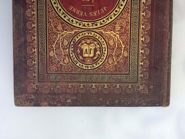 Livre De Jules Verne Une Édition Originale Éditée Chez Hetzel Les Tribulations D'un Chinois En Chine Cartonnage Initiale