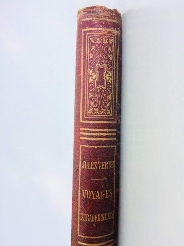 Livre De Jules Verne Une Édition Originale Éditée Chez Hetzel Les Tribulations D'un Chinois En Chine Dos
