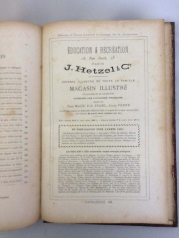 Livre De Jules Verne Une Édition Originale Éditée Chez Hetzel Les Tribulations D'un Chinois En Chine Intérieur