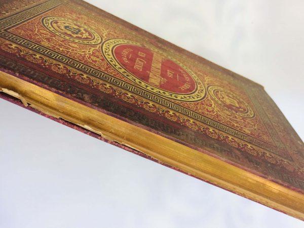Livre De Jules Verne Une Édition Originale Éditée Chez Hetzel Les Tribulations D'un Chinois En Chine Tranche Dorée