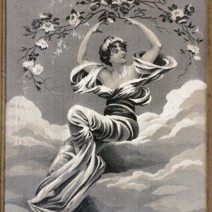 Tableau en tissu JACQUARD – d'après un tableau de Pierre Auguste COT