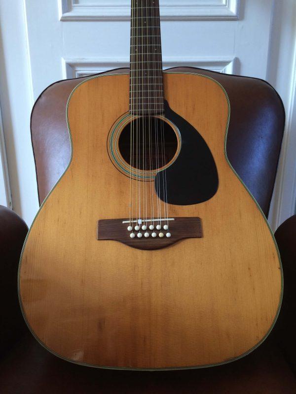 Yamaha Guitare Fg 230 Nippon Gakki Red Label Corps