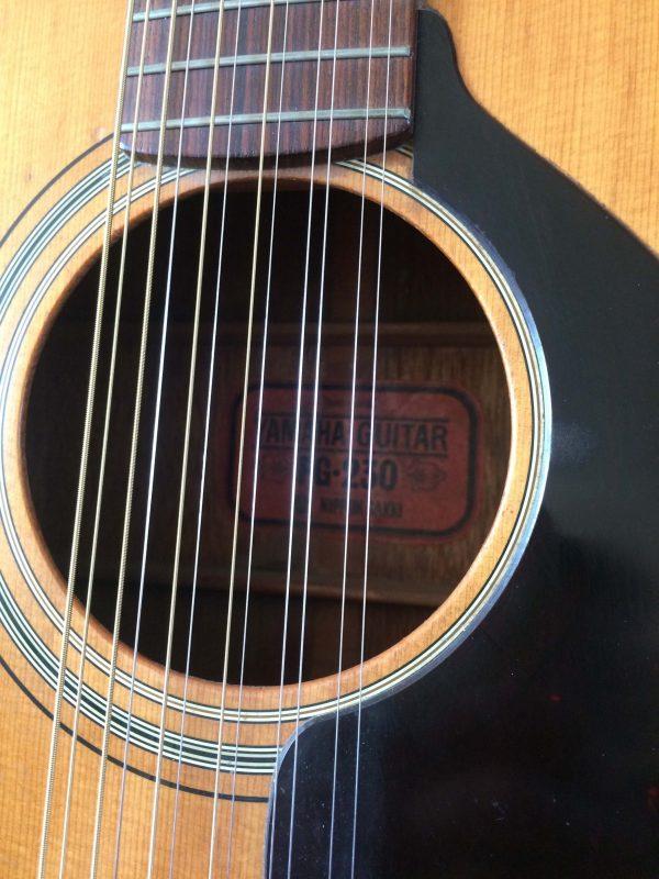 Yamaha Guitare Fg 230 Nippon Gakki Red Label Rosace