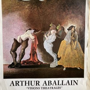 Arthur Aballain Affiche Exposition