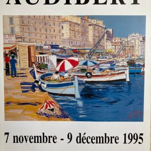 Audibert Affiche Exposition 1995