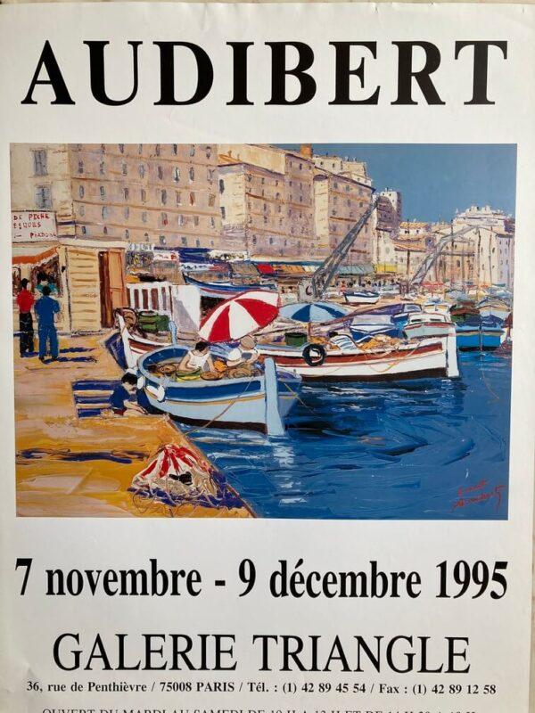Audibert Affiche Exposition 1995