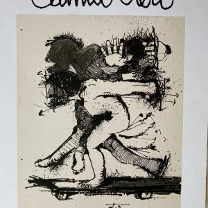 Camilo OTERO – Affiche d'exposition sculptures et dessins