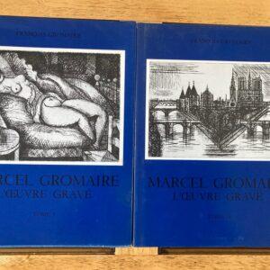 marcel gromaire l'oeuvre gravé bibliothèques des arts paris 1976