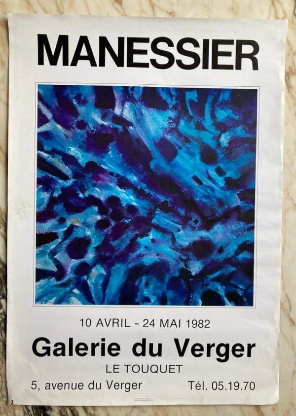 Manessier Affiche Exposition 1982
