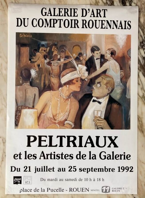 Peltriaux Galerie D'art Rouen 1992