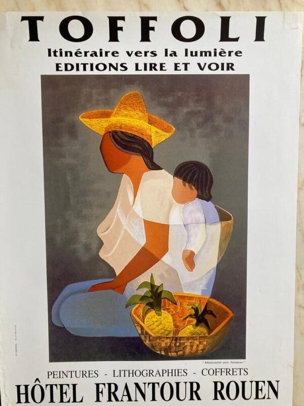 Toffoli Affiche Exposition Rouen