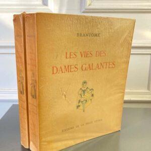 la vie des dames galantes pierre de brantôme éditions de la belle étoile jacques touchet 2 volumes