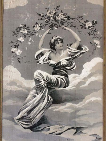 tableau en tissu jacquard un tableau de pierre auguste cot