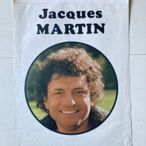 jacques martin à bobino affiche de spectacle