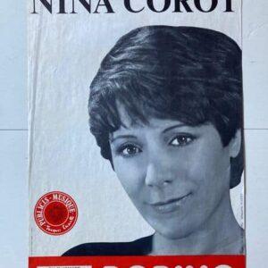 nina corot à bobino affiche de spectacle