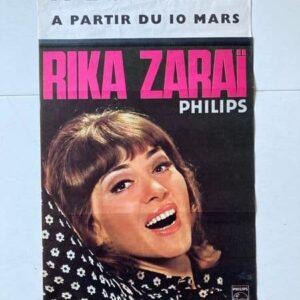 rika zaraï à l'olympia affiche de spectacle