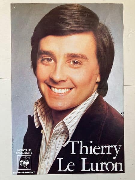 thierry le luron affiche de spectacle