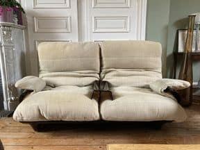 canapé 2 places design michel ducaroy édition ligne roset modèle marsala