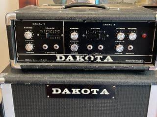 ampli à lampes dakota bass clavier