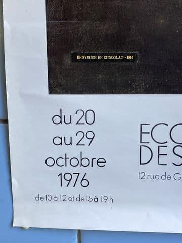 marcel duchamp affiche exposition la boite en vrac tourcoing